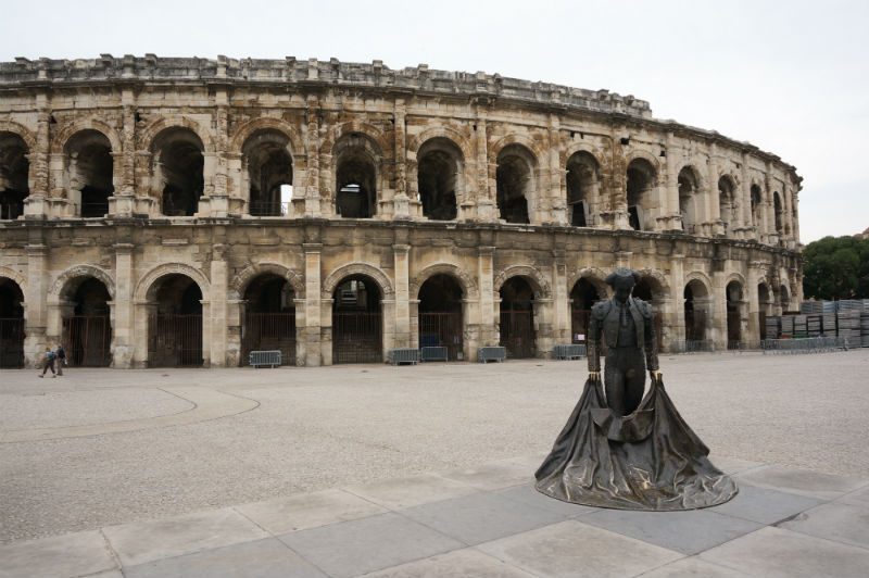 Parando en Nîmes yMontecarlo