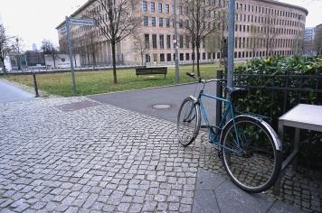 Bici aparcada, Berlín