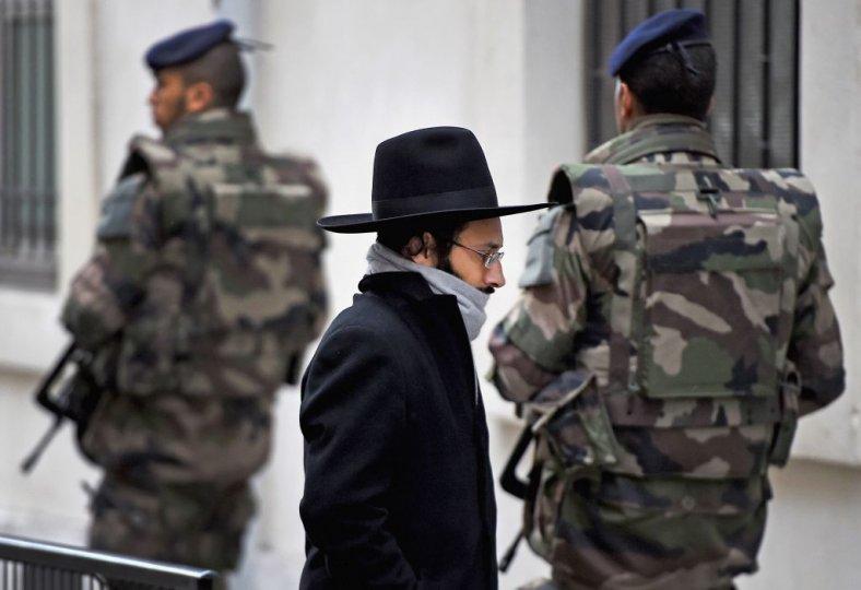 Por qué los judíos se van deFrancia