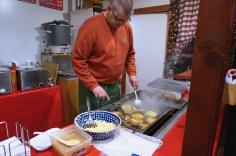 Kartoffel Puffle mit apfelmus
