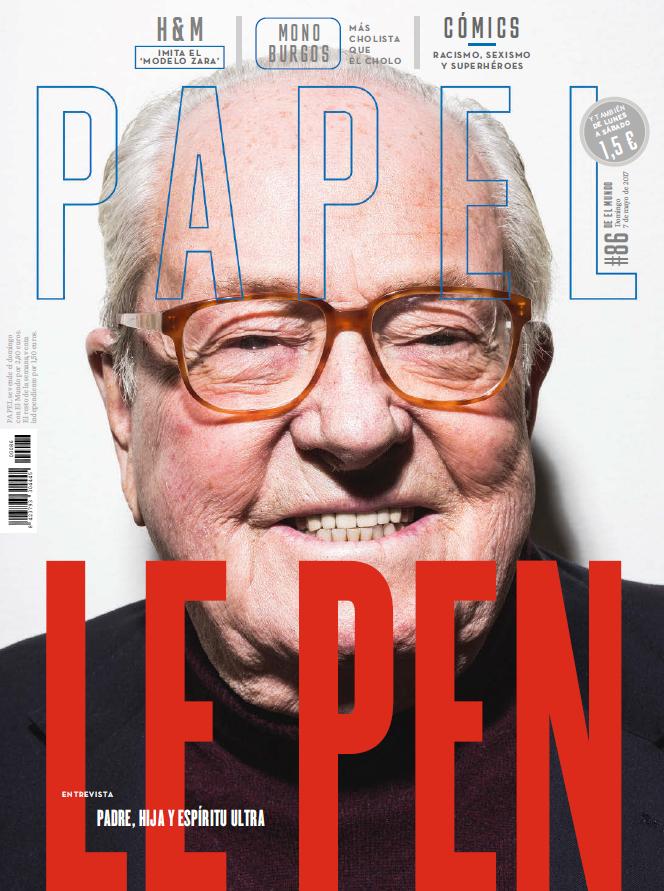 """Jean-Marie Le Pen: """"Sin mi apellido, Marine sería una completa desconocida"""""""